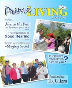 Prime Living, Jan 2014